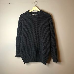 Superdry black sweater size large